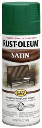 Rust-Oleum® Stops Rust® Satin Hunter Green Protective Enamel Spray - 12 oz