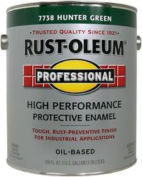 Rust-Oleum® Professional Gloss Hunter Green High-Performance Enamel - 1 gal.
