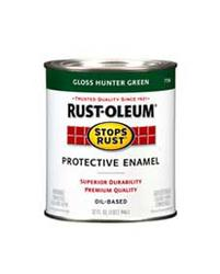 Rust-Oleum® Stops Rust® Gloss Hunter Green Protective Enamel - 1/2 pt