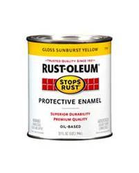 Rust-Oleum® Stops Rust® Gloss Sunburst Yellow Protective Enamel - 1 qt