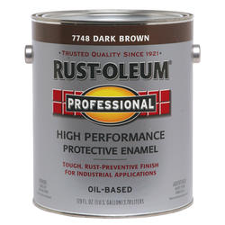 Rust-Oleum® Professional Gloss Dark Brown High-Performance Enamel - 1 gal.