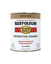 Rust-Oleum® Stops Rust® Gloss Sand Protective Enamel - 1 qt