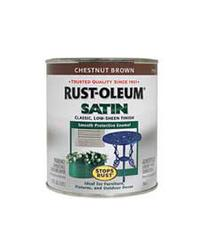 Rust-Oleum® Stops Rust® Satin Chestnut Brown Protective Enamel - 1 qt