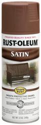 Rust-Oleum® Stops Rust® Satin Chestnut Brown Protective Enamel Spray - 12 oz