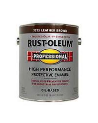 Rust-Oleum® Professional Gloss Leather Brown High-Performance Enamel - 1 gal.