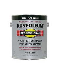 Rust-Oleum® Professional Flat Black High-Performance Enamel - 1 gal.
