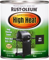 Rust-Oleum® Specialty BBQ Black High-Heat Paint - 1 qt