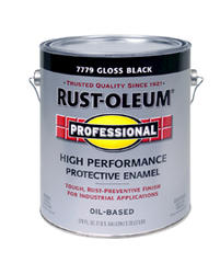 Rust-Oleum® Professional Gloss Black High-Performance Enamel - 1 gal.