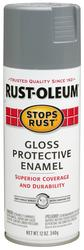 Rust-Oleum® Stops Rust® Gloss Pewter Gray Protective Enamel Spray - 12 oz