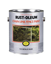 Rust-Oleum® Stops Rust® Metallic Silver Chain Link Fence Spray Paint - 1 gal.