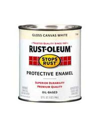 Rust-Oleum® Stops Rust® Gloss Canvas White Protective Enamel - 1 qt