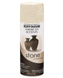 American Accents Bleached Stone Sand Stone Textured Spray Paint - 12 oz