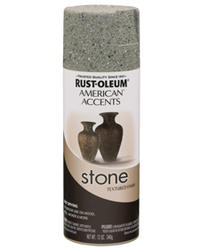 American Accents Gray Sand Stone Textured Spray Paint - 12 oz