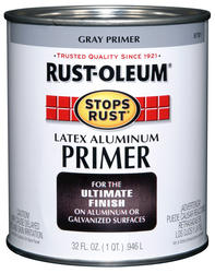 Rust-Oleum® Stops Rust® Gray Latex Aluminum Primer - 1 qt