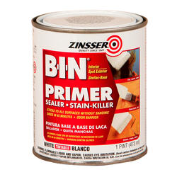 Zinsser® B-I-N Pigmented Shellac Primer and Sealer - 1 pt