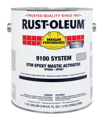 High Performance 9100 System Fast Dry DTM Epoxy Mastic Activator - 1 gal.