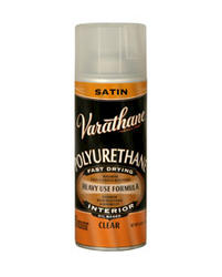 Varathane® Satin Oil-Based Interior Polyurethane Spray - 11.25 oz