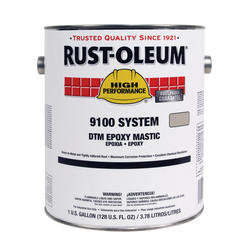 High Performance 9100 System Silver Gray DTM Epoxy Mastic - 1 gal.