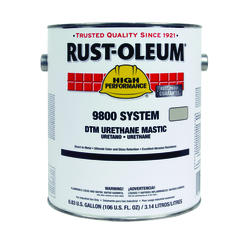 High Performance 9800 System Silver Gray DTM Urethane Mastic - 1 gal.