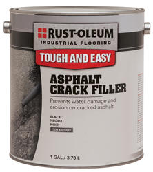 Rust-Oleum® Industrial Flooring Asphalt Crack Filler - 1 gal.