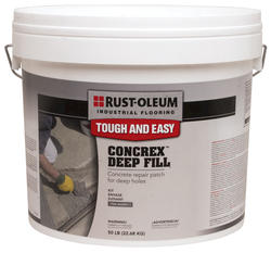 Rust-Oleum® Industrial Flooring Concrex Deep Fill Concrete Repair Kit - 50 lb