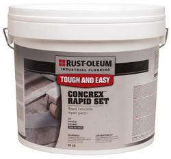 Rust-Oleum® Industrial Flooring Concrex Rapid Set Concrete Repair Kit - 50 lb