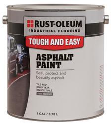 Rust-Oleum® Industrial Flooring White Asphalt Paint - 1 gal.
