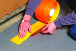 "Rust-Oleum® Industrial Flooring 4"" Yellow Heavy-Duty Line Marking Tape - 98' Roll"