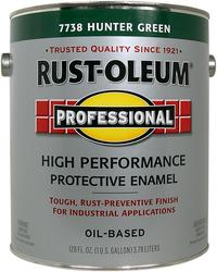 Rust-Oleum® Professional Gloss Hunter Green Low-VOC High-Performance Enamel - 1 gal.