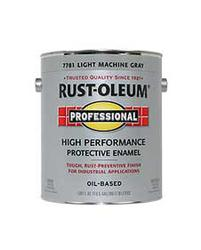 Rust-Oleum® Professional Gloss Light Machine Gray Low-VOC High-Performance Enamel - 1 gal.