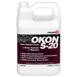 OKON S-20 Concrete and Masonry Water-Repellent Sealer - 1 gal.
