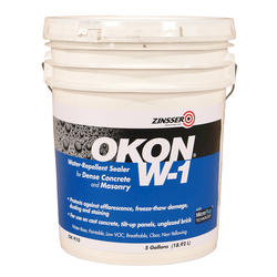 OKON W-1 Concrete and Masonry Water-Repellent Sealer - 5 gal.