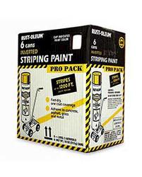 Rust-Oleum® Professional White Inverted Striping Paint Pro Pack