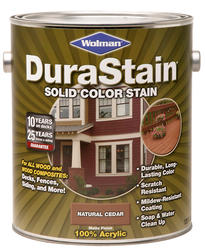 Wolman™ DuraStain® Chestnut Brown Solid Color Stain - 1 gal.