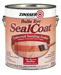 Zinsser® Bulls Eye SealCoat Universal Sanding Sealer - 1 qt