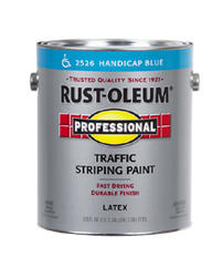 Rust-Oleum® Professional Handicap Blue Traffic Striping Paint - 1 gal.