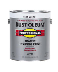 Rust-Oleum® Professional White Traffic Striping Paint - 1 gal.