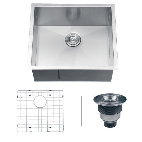 Ruvati Rvh7100 Undermount 16 Gauge 23 Kitchen Sink Single Bowl At Menards