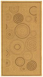 "Gramercy Courtyard Collection Indoor/Outdoor Area Rug  2'-7"" x 5'"