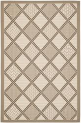 "Gramercy Courtyard Collection Indoor/Outdoor Area Rug  5'3"" x 7'7"""