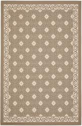 "Gramercy Courtyard Collection Indoor/Outdoor Area Rug  6'7"" x 9'6"""