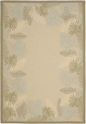 Gramercy Courtyard Collection Indoor/Outdoor Area Rug  4' x 5'7""