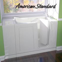 "Acrylic Walk-In Soaking Tub, 28"" x 48"" Right Hand"
