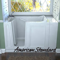 "Acrylic Walk-In Soaking Tub, 30"" x 51"" Left Hand"