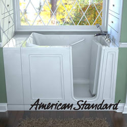 "Acrylic Walk-In Soaking Tub, 30"" x 51"" Right Hand"