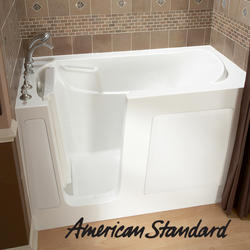 "Gel Coat Walk-In Soaking Tub, 30"" x 60"" Left Hand"
