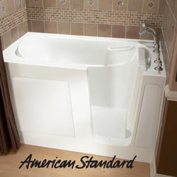 "Gel Coat Walk-In Soaking Tub, 30"" x 60"" Right Hand"