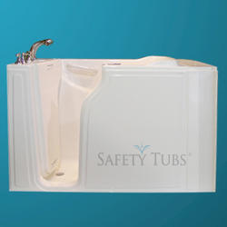 "Safety Tubs® Gel Coat Walk-In Dual Massage System, 52"" x 30"" Left Hand"
