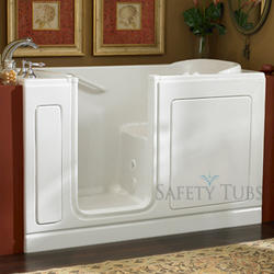 "Safety Tubs® Acrylic Walk-In Soaking Tub, 60"" x 32"" Left Hand"