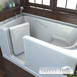 "Safety Tubs® Acrylic Walk-In Dual Massage System, 60"" x 32"" Left Hand"